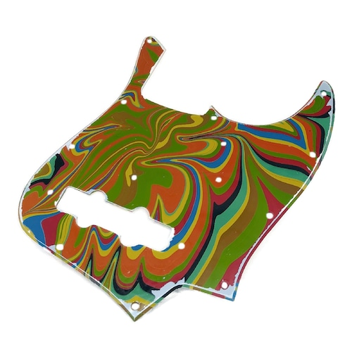 VARIOUS MARBLEIZED PICK GUARD SERIES - 60s J-type  Only One Design - ベース用マーブルピックガード ja3-2
