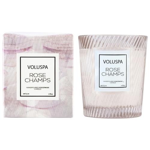 VOLUSPA ボルスパ マカロン・クラシックグラスキャンドル ロゼシャン