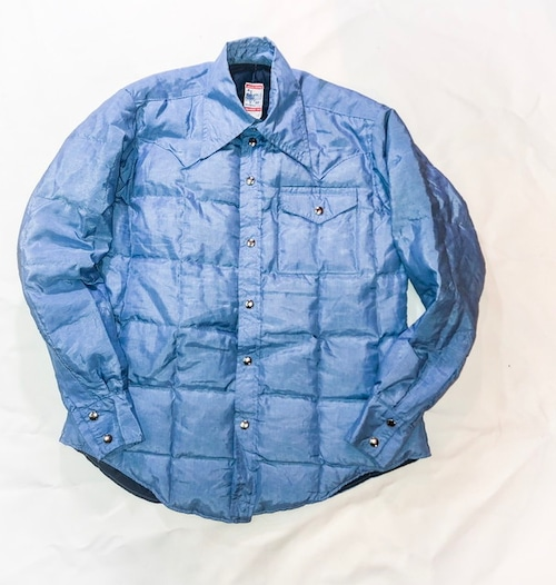 70's down shirt