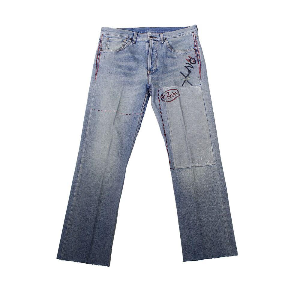 COOL TM Hand Print Denim Pants