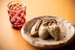 - 牡蠣の燻製マリネ -  (5粒)