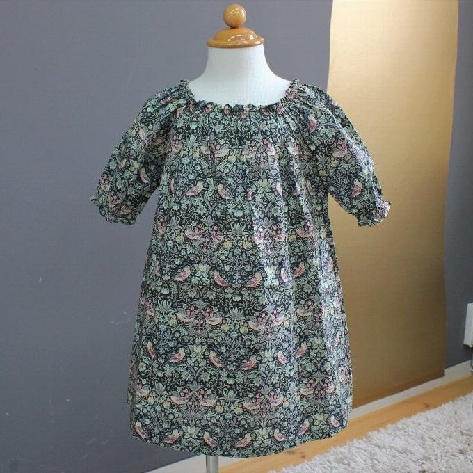 BABE&TESS リバティプリント Dress ( 24m )