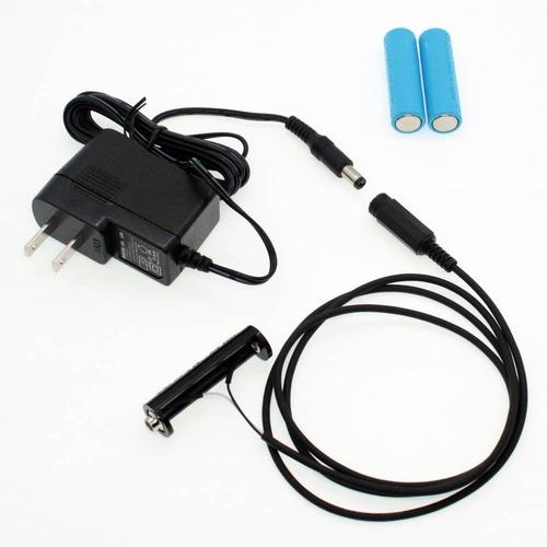 単3電池×3本用 ACアダプター接続ケーブル 1mセット品 [AABAT-3-1m-SET]
