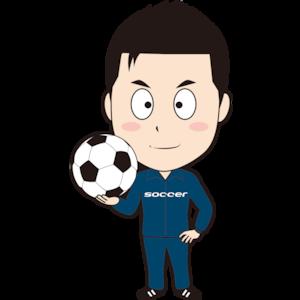 男性サッカーコーチ