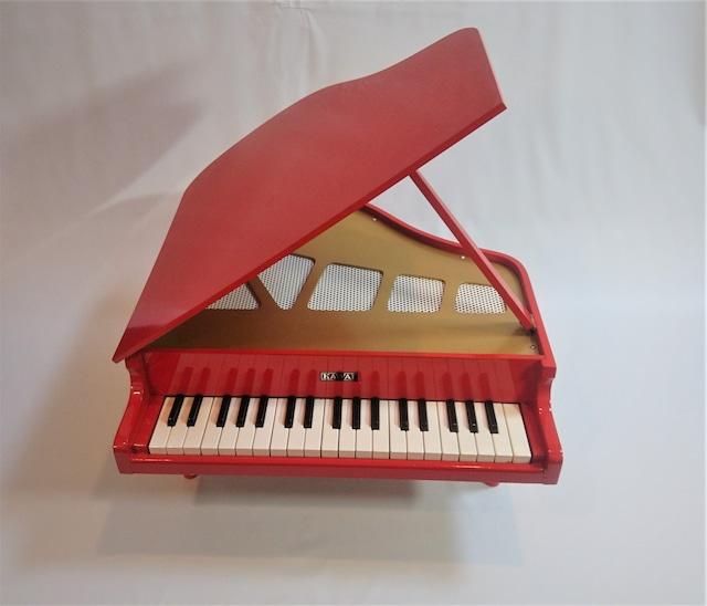 [vintage]kawaiトイピアノ37鍵盤 赤