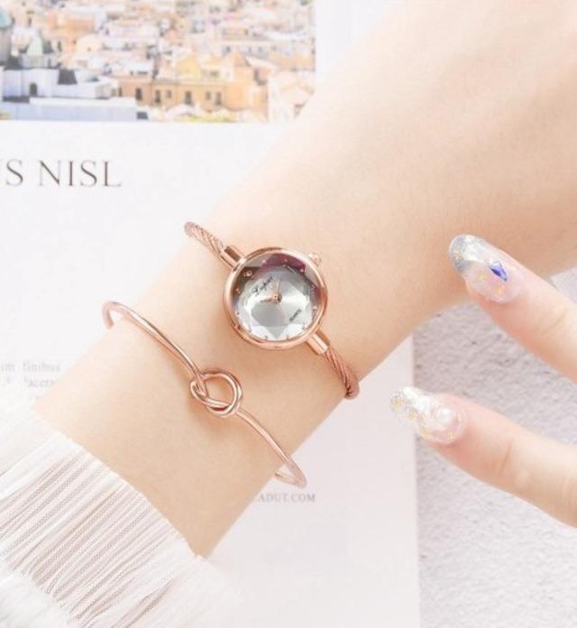 LVPAI LT-P1148(silver) レディース腕時計