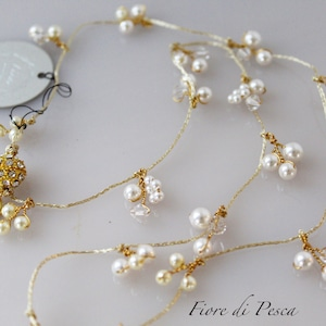 Mariage Necklace(white)
