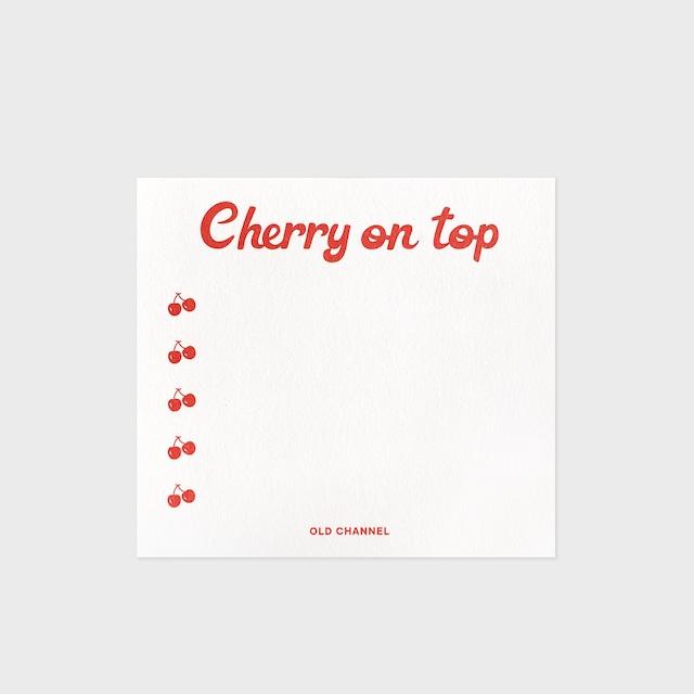[OLD CHANNEL] SQUARE CHECKLIST (Cherry)
