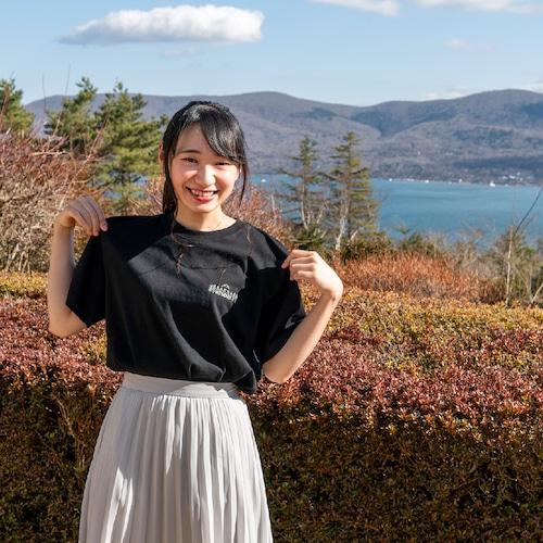 【富士急サウナリゾート】ホテルマウント富士 オリジナルサウナTシャツ 黒