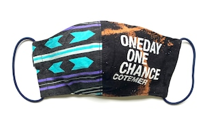 【COTEMER マスク 日本製】ONE DAY ONE CHANCE WESTERN × BLEACH MASK 0523-138
