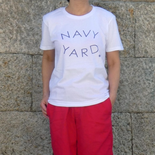 送料無料☆2021年NAVY YARDロゴTシャツ/半袖