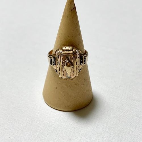 1953's Vintage 10K School Ring