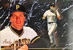 MLBカード 93FLEER Andy Van Slyke TOP GLOVE #008 PIRATES