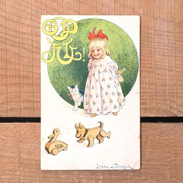 クリスマスカード「Jenny Nyström(イェニー・ニィストルム)」《200321-02》