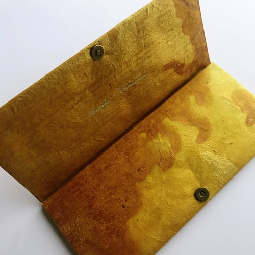 月山和紙の長財布【月景色】