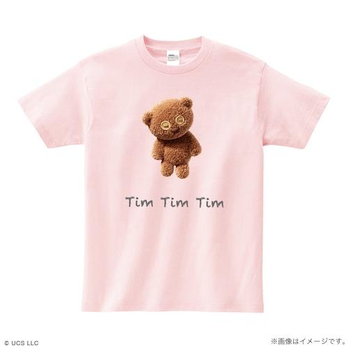 Tシャツ/ミニオン(Tim ピンク)【MINIONS POP UP STORE 限定】