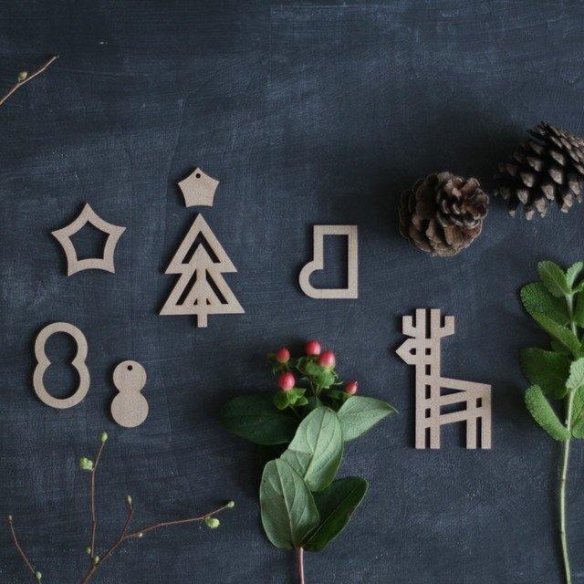 【sukima.】 forest ornament / 森のオーナメント 木製 オーナメント クリスマス