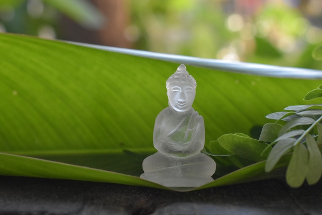ミャンマー産手彫り仏陀さまbudd001