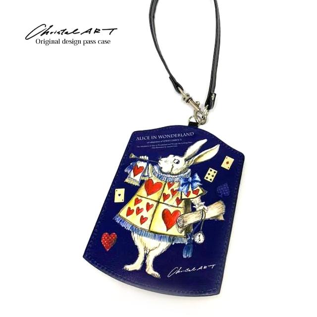 ◆即納◆「アリス(ウサギ)」柄 ダイカットパスケース