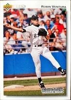 MLBカード 92UPPERDECK Robin Ventura #263 WHITE SOX