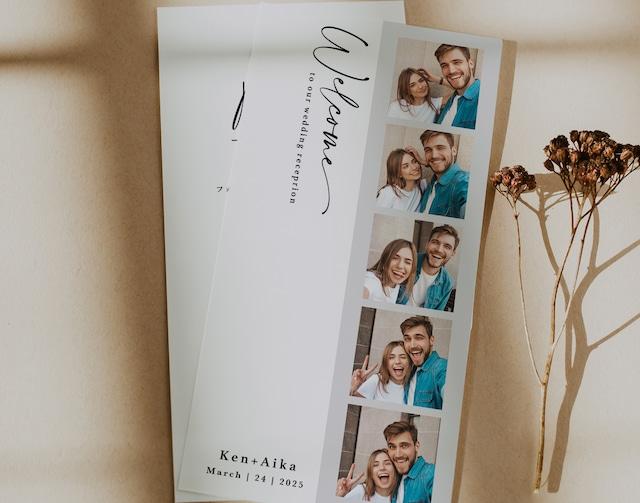 席次表 169円~/部【フォトブース】│ウェディング 結婚式 プロフィールブック