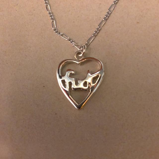 fuck necklace SILVER925 #LJ1827N