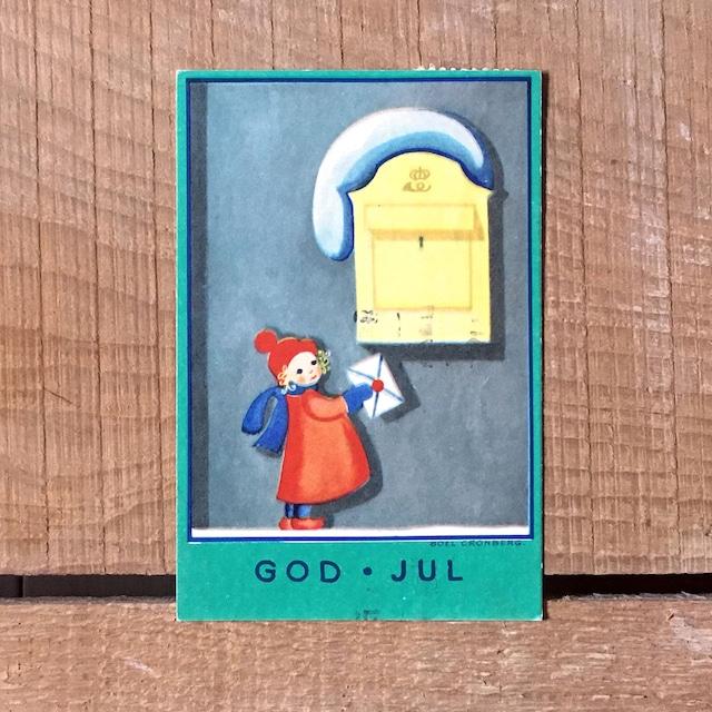 ミニ・クリスマスカード「Boel Cronberg(ボエル・クローンベリ)」《200313-03》