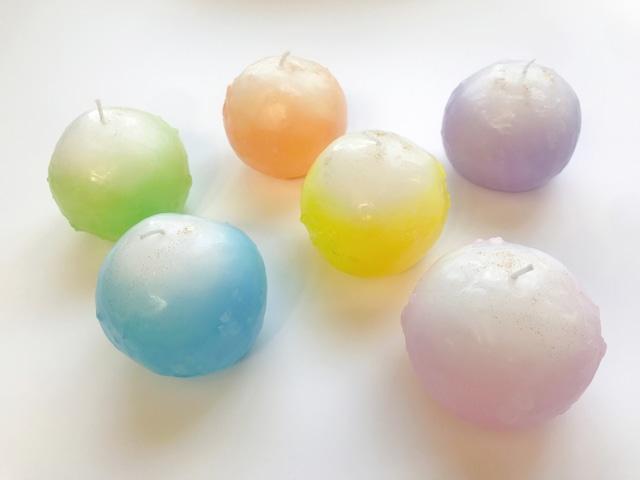 盛り塩がキャンドルになった浄®キャンドル<6色展開:Mサイズ>