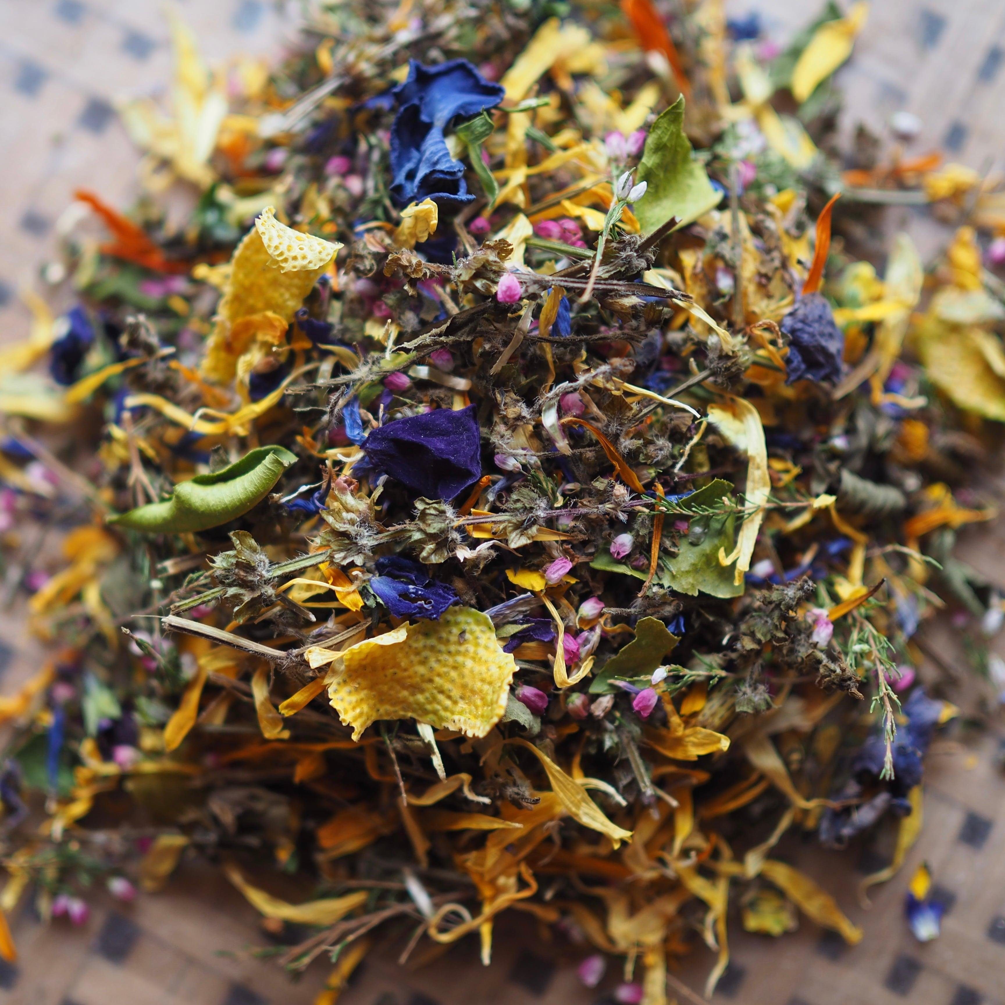 edibleflower tea  花茶
