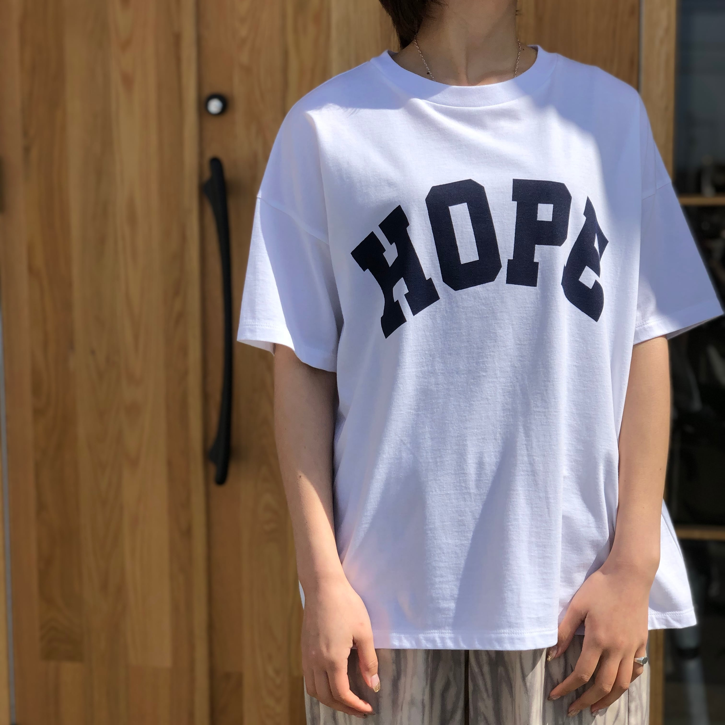 【 siro de labonte 】- R123211 - HOPEワイドTシャツ