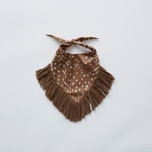 eLfinFolk QiLin bib (brown) elf-211A33