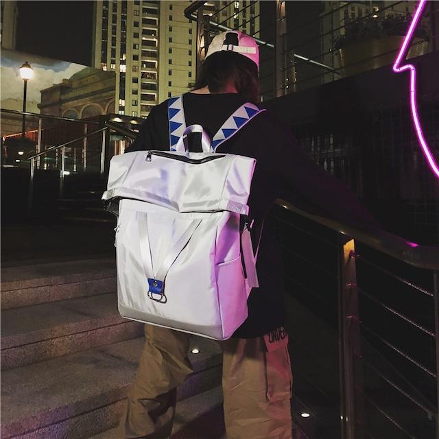 【バッグ】シンプルカジュアルリュックバッグ43203963