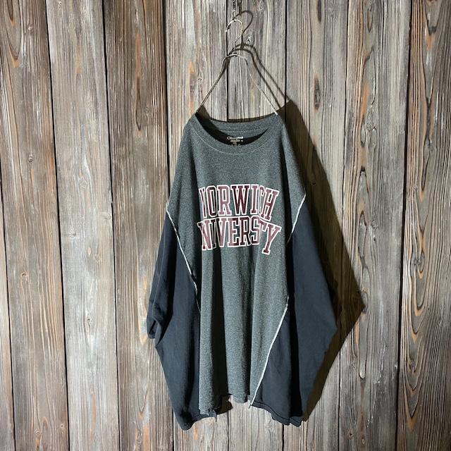 [remake]Champion college logo docking T shirt