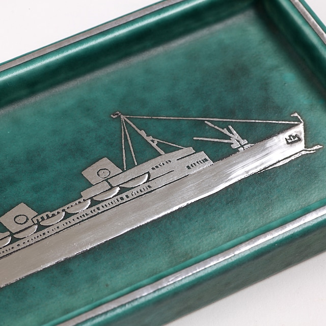 Gustavsberg グスタフスベリ Argenta アルジェンタ 船の角皿 北欧ヴィンテージ