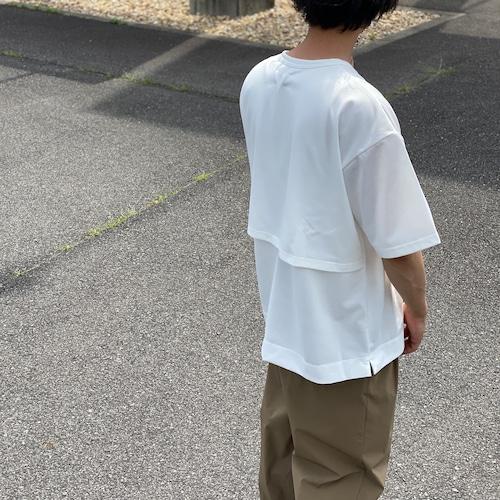 FORTUNA HOMME/フォルトゥナ バックメッシュデザインTシャツ FHCT-0009