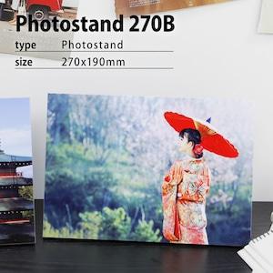 オーダーフォトパネル/フォトスタンド270B(A4-/枠なし)/写真のネットプリント/アートパネル