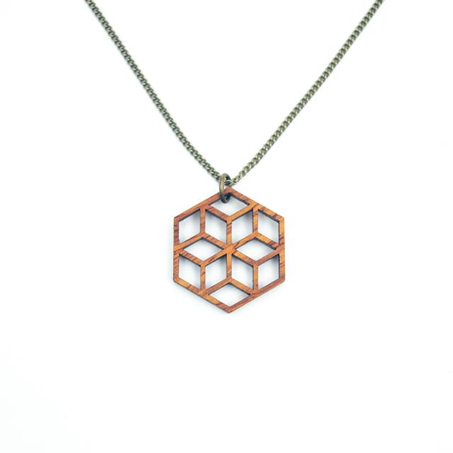 geometric pendant NKS-MGY