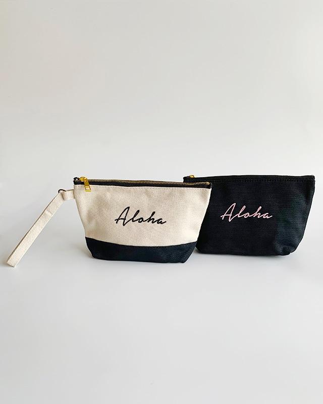 Aloha handle pouch