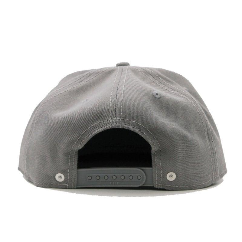 WOVEN LETTER SNAPBACK CAP