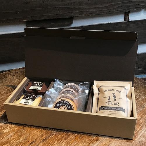 焼菓子とドリップバッグ・コーヒーバッグのセット (Box入り)
