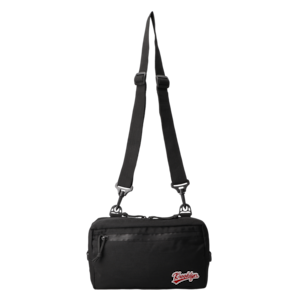 K'rooklyn Pouch -Black & Olive-