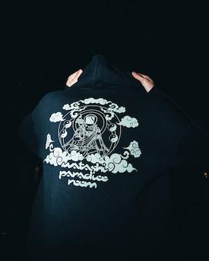 【STAYROOM】 WATASHI PRODUCT × ROOM  Design STARMAN Pullover hoodie