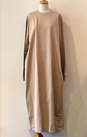 MAISON EUREKA CIZA COTTON MAXI L/S color beige size F