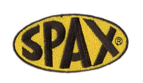 SPAX・ロゴ・ワッペン・Mサイズ