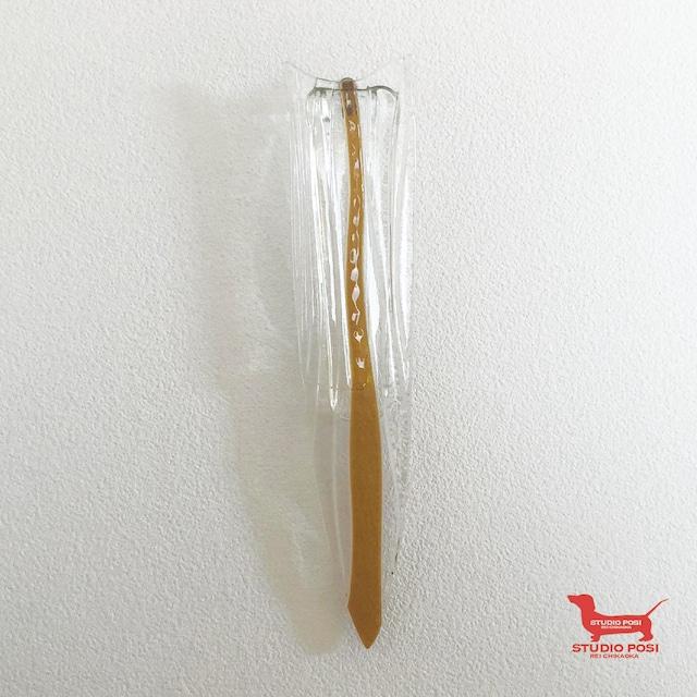 KAGEROU- 壁掛け花器(yellow)