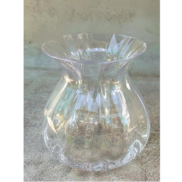 ★Mミニブーケや大型の花一輪飾りにぴったり! グラスフラワーベースのご紹介。