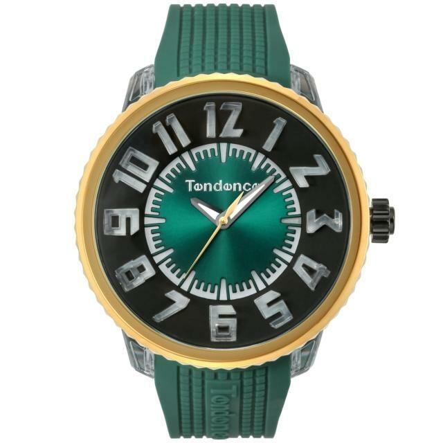 【Tendence テンデンス】TY532001 FLASHフラッシュ(グリーン)/国内正規品 腕時計