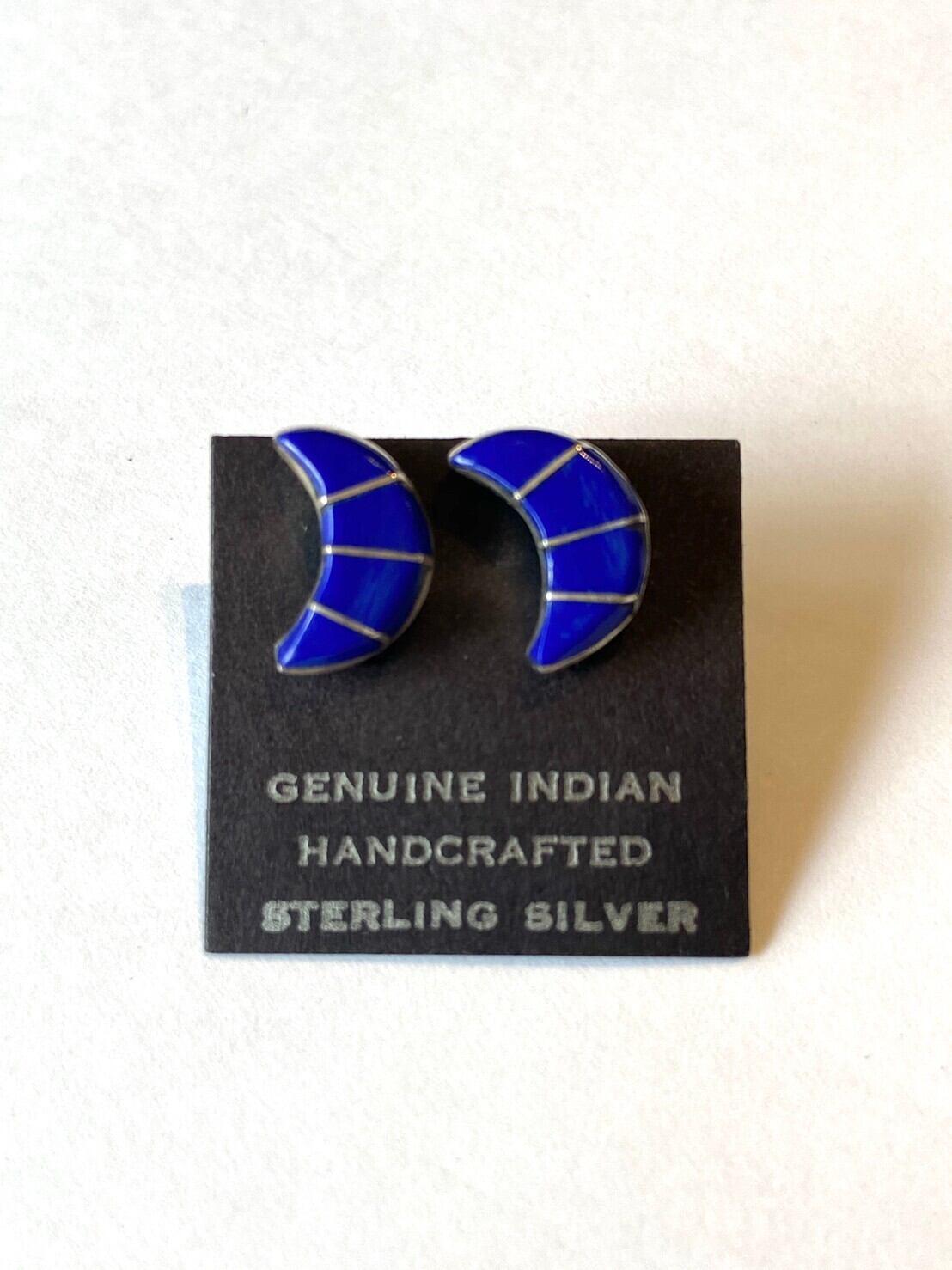 【Indian jewelry】ピアス~ブルームーン~