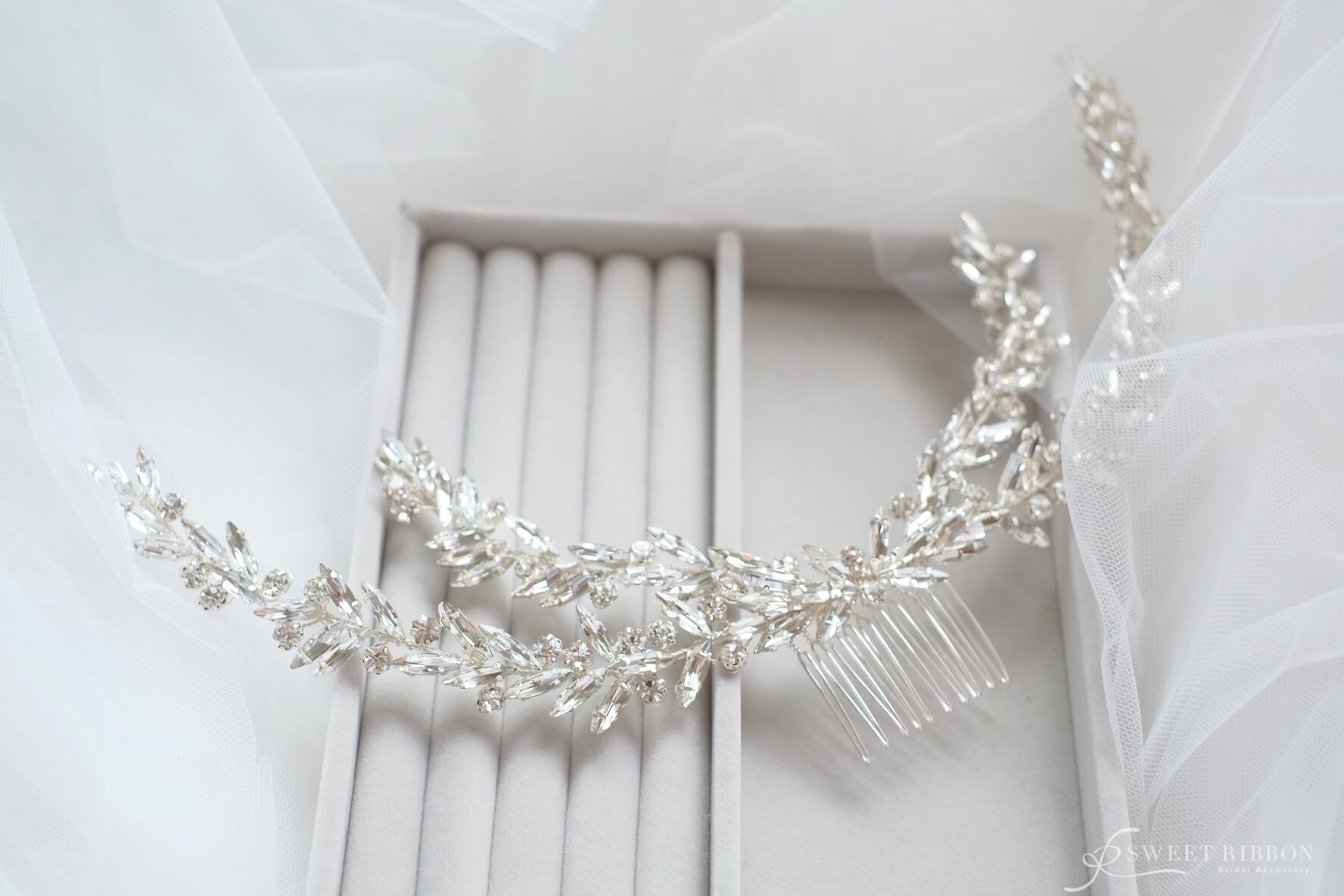 ブライダルヘッドドレス[HA-068]