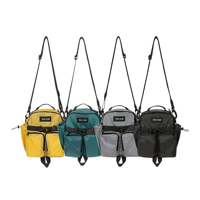 【EQUIPMENT】アウトドア ショルダー メッセンジャー バッグ【4colors】